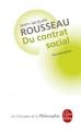 Couverture Du contrat social Editions Le Livre de Poche (Les Classiques de la Philosophie) 2012