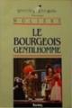 Couverture Le bourgeois gentilhomme Editions Bordas (Univers des lettres) 1988