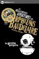 Couverture Les désastreuses aventures des orphelins Baudelaire, tome 11 : La Grotte Gorgone Editions Nathan (Poche) 2010