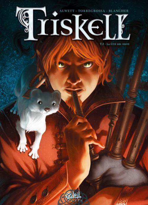 Couverture Triskell, tome 2 : La cité des vents