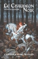 Couverture Chroniques de Prydain, tome 2 : Le Chaudron noir Editions Hachette (Jeunesse) 2008