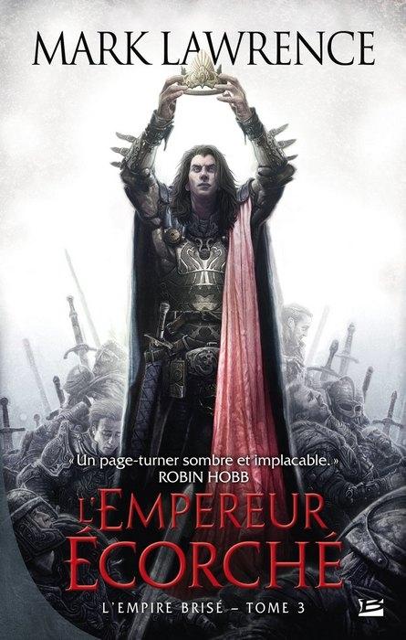 Couverture L'Empire Brisé, tome 3 : L'Empereur écorché