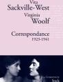 Couverture Correspondance 1923-1941 Editions Stock (La Cosmopolite) 2010