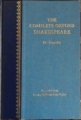 Couverture The Complete Oxford Shakespeare, book 3 : Tragedies Editions Oxford University Press 1990