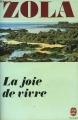 Couverture La joie de vivre Editions Le Livre de Poche 1981