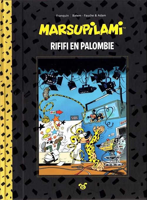 Couverture Marsupilami, tome 10 : Rififi en Palombie
