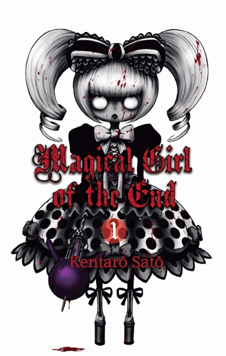 Couverture Magical girl of the end, tome 01