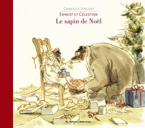 Couverture Ernest et Célestine : Le sapin de Noël
