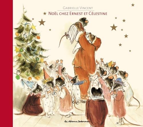 Couverture Noël chez Ernest et Célestine