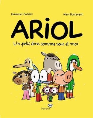 Couverture Ariol (2e série), tome 1 : Un petit âne comme vous et moi