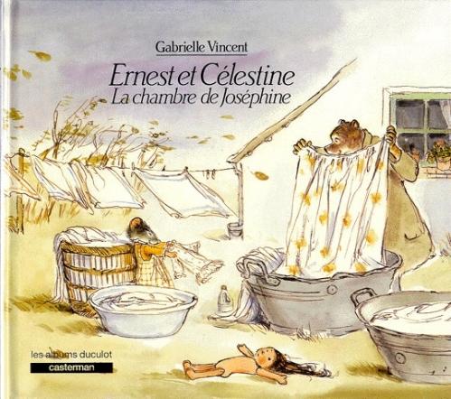 Couverture Ernest et Célestine : La Chambre de Joséphine
