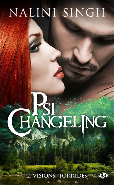 Couverture Psi-changeling, tome 02 : Visions torrides