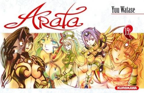 Couverture Arata, tome 15