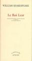 Couverture Le Roi Lear Editions Actes Sud (Un endroit où aller) 1998