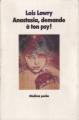 Couverture Anastasia, demande à ton psy ! Editions L'école des loisirs (Médium Poche) 1990