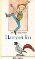 Couverture Harry est fou Editions Folio  (Junior) 1987