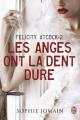 Couverture Felicity Atcock, tome 2 : Les anges ont la dent dure Editions J'ai Lu (Darklight) 2014