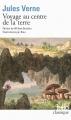 Couverture Voyage au centre de la Terre Editions Folio  (Classique) 2014