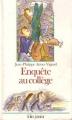 Couverture Enquête au collège Editions Folio  (Junior) 1995