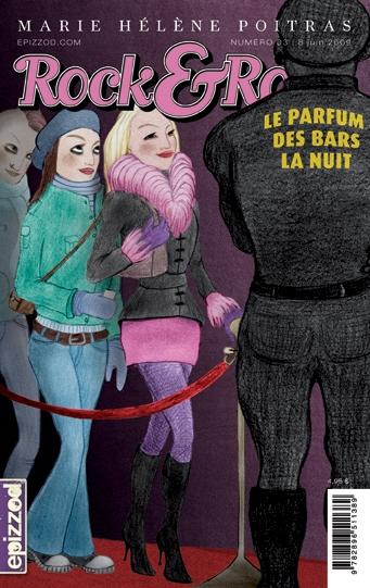 Couverture Rock & Rose, tome 03 : Le parfum des bars la nuit