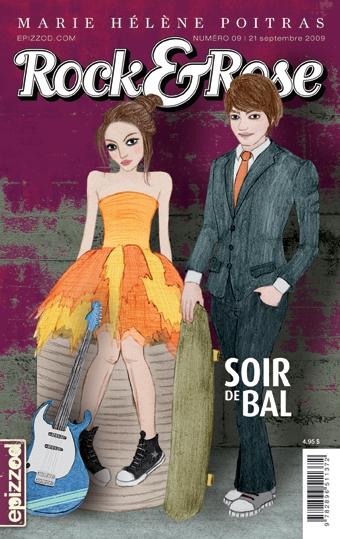 Couverture Rock & Rose, tome 09 : Soir de bal