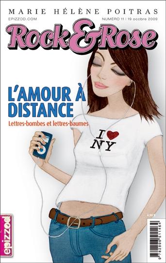 Couverture Rock & Rose, tome 11 : L'amour à distance