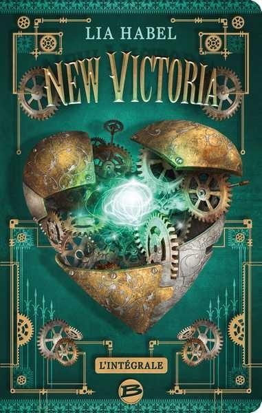 Couverture New Victoria, intégrale