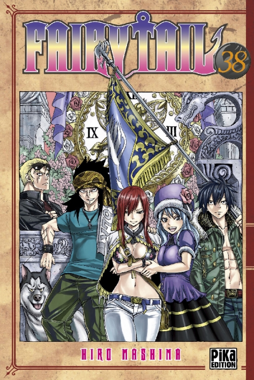 Couverture Fairy Tail, tome 38
