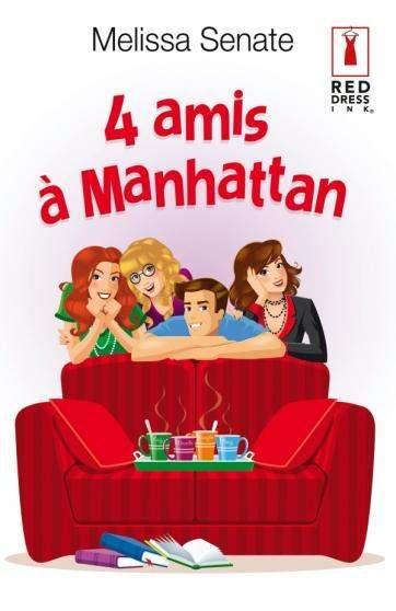 Couverture 4 amis à Manhattan