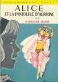 Couverture Alice et la pantoufle d'Hermine Editions Hachette (Bibliothèque verte) 1965
