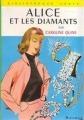 Couverture Alice et les diamants Editions Hachette (Bibliothèque verte) 1963