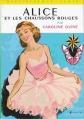 Couverture Alice et les chaussons rouges Editions Hachette (Bibliothèque verte) 1961