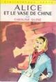 Couverture Alice et le vase de Chine Editions Hachette (Bibliothèque verte) 1966