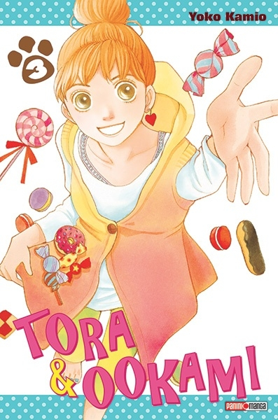 Couverture Tora & Ookami, tome 3