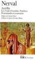 Couverture Aurélia, Les nuits d'octobre, Pandora, Promenades et souvenirs Editions Folio  (Classique) 2005