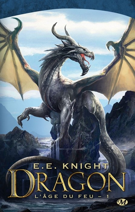 Couverture L'âge du feu, tome 1 : Dragon