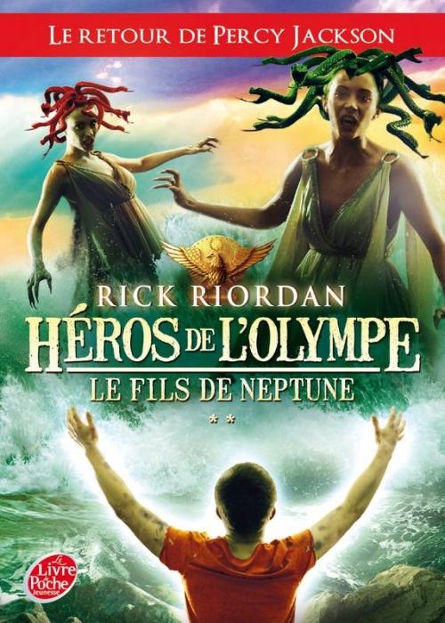 Couverture Héros de l'Olympe, tome 2 : Le Fils de Neptune