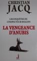 Couverture Les enquêtes de l'inspecteur Higgins, tome 14 : La vengeance d'Anubis Editions J 2014