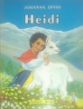 Couverture Heidi /  Heidi, fille de la montagne Editions Flammarion (Jeunesse) 1958