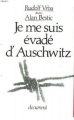Couverture Je me suis évadé d'Auschwitz Editions Ramsay 1990