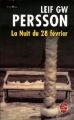 Couverture La Nuit du 28 février Editions Le Livre de Poche (Thriller) 2007