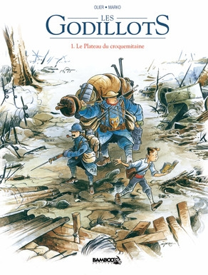 Couverture Les Godillots, tome 1 : Le Plateau du croquemitaine