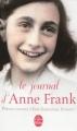 Couverture Le journal d'Anne Frank Editions Le livre de poche 2013