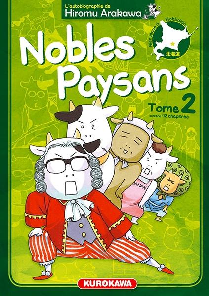 Couverture Nobles Paysans, tome 2
