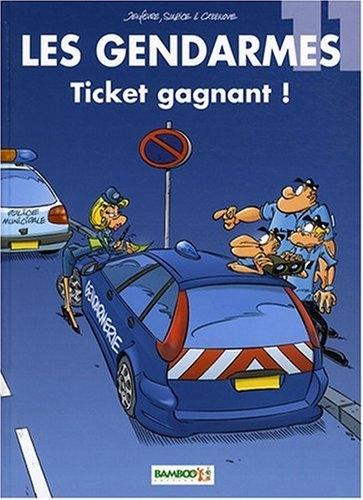 Couverture Les Gendarmes, tome 11 : Ticket gagnant !