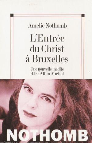 Couverture L'entrée du Christ à Bruxelles