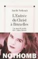 Couverture L'entrée du Christ à Bruxelles Editions Albin Michel 2004