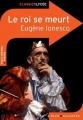Couverture Le roi se meurt Editions Belin / Gallimard (Classico - Lycée) 2010