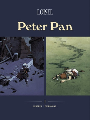 Couverture Peter Pan, tomes 01 et 02 : Londres / Opikanoba