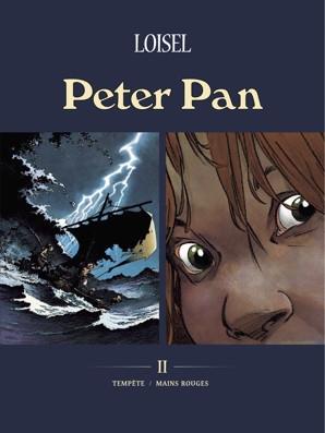 Couverture Peter Pan, tomes 03 et 04 : Tempête / Mains rouges